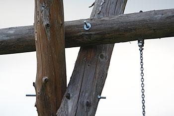 Klettergerüst Holz Selber Bauen : Vätersache gartenschaukel bauen väterzeit