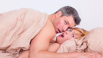 schwangere frau hat sex