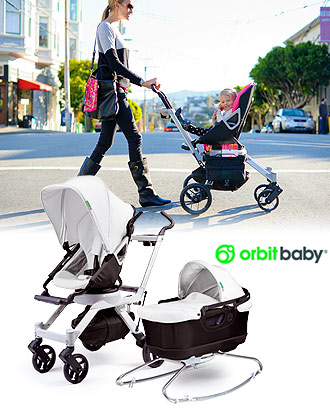 väterzeit Produkttest - Orbit Baby G2 Kinderwagen