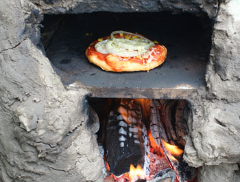 Vätersache - Lehmofen (Pizzaofen) selber bauen 1 - Väterzeit